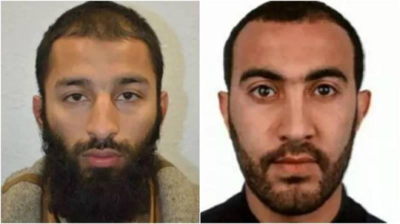 Metropolitan Police name two London Bridge attackers as Khuram Shazad Butt & Rachid Redouane