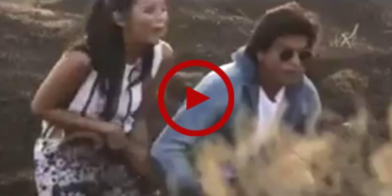 Shah Rukh Khan loses his cool over near-death prank
