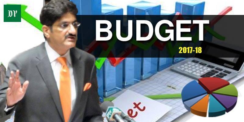 Sindh CM Murad Ali Shah unveils Rs1.04 trillion budget for FY 2017-18