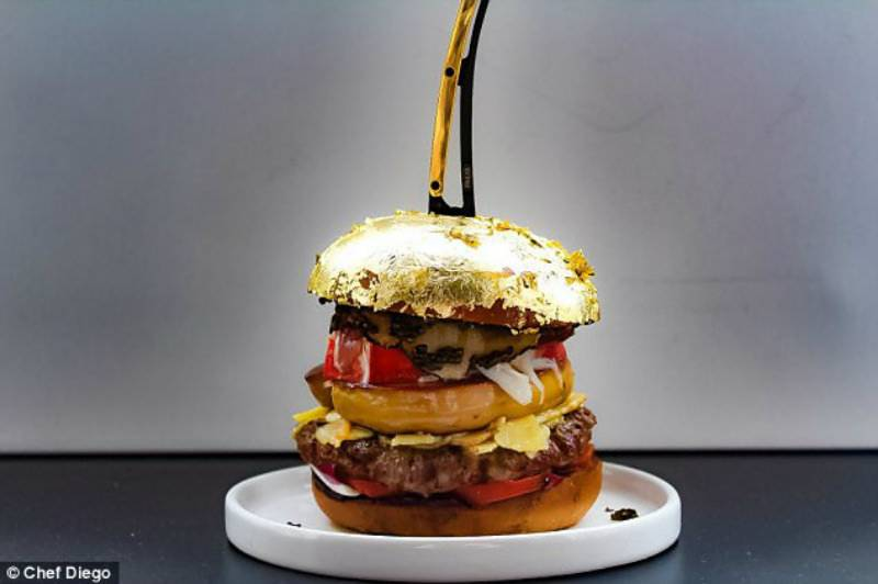 Is this the world's most expensive burger?