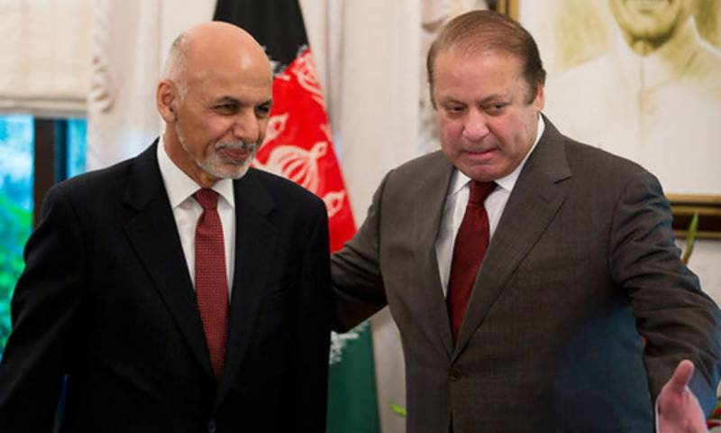 SCO summit: PM Nawaz meets Afghan President Ghani in Astana, reiterates resolve to fighting terrorism