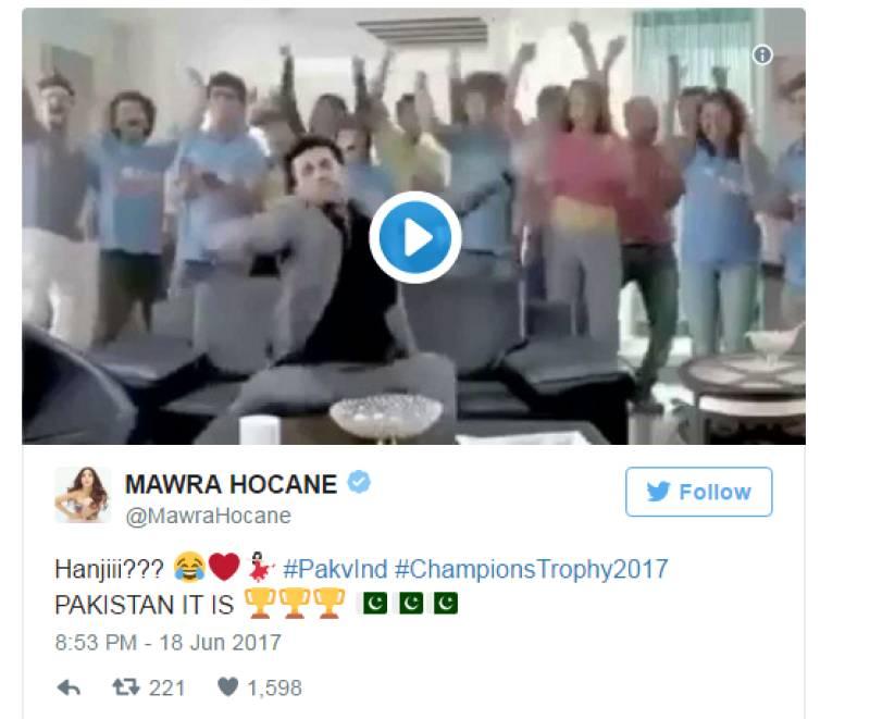 Mawra Hocane has a message for Ranbir Kapoor post-Pakistan win!