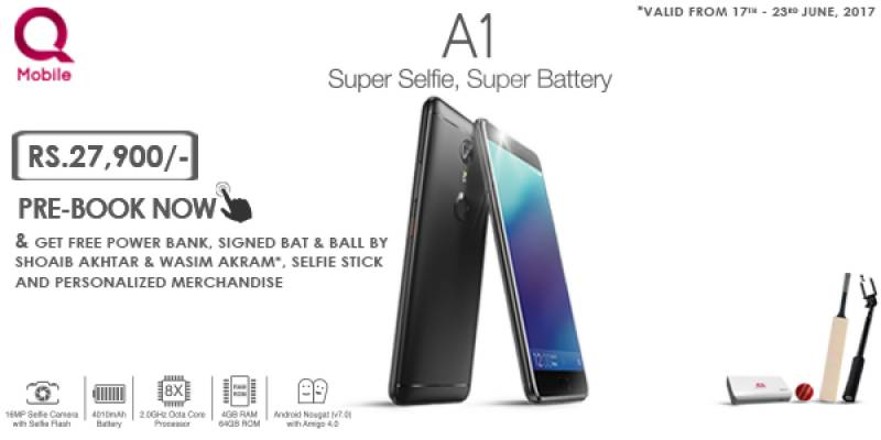 QMobile offers exclusive giveaways on Pre-Booking of new Noir A1