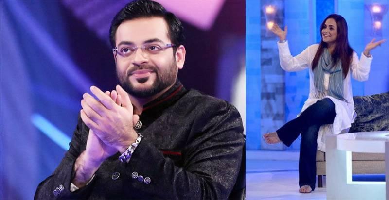 Nadia Khan and Sanam Baloch take jabs at Aamir Liaquat!