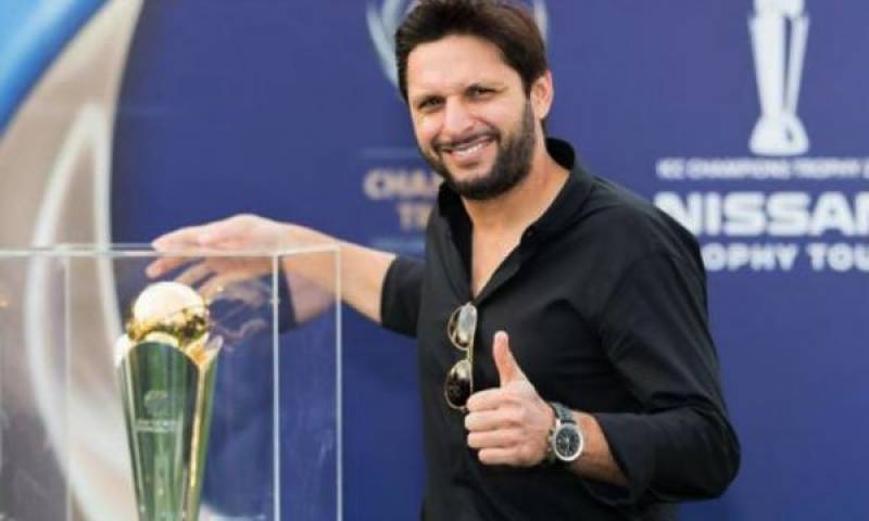 Shahid Afridi has a VERY special message for India!