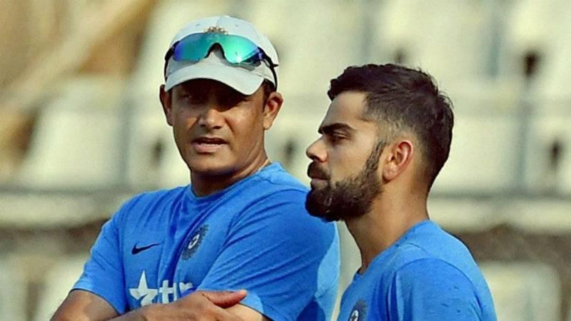 Virat Kohli deletes tweet welcoming ex-chief coach Anil Kumble
