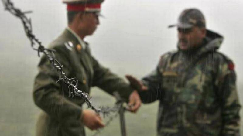Chinese troops 'destroy two Indian bunkers after crossing Sino-India frontier'