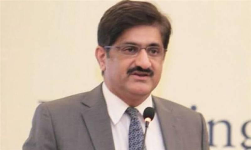 Federal govt puts eliminating terrorism on the back burner, says Sindh CM