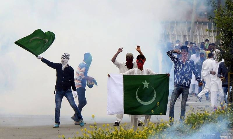 Indian occupation forces injures at least 10 Kashmiris on Eid