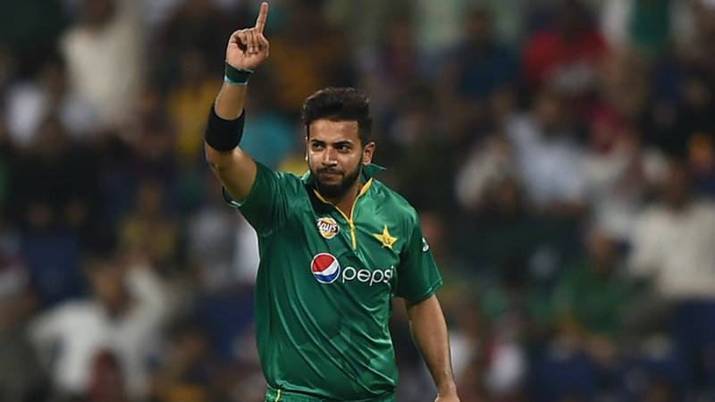 Pakistan's Imad Wasim rises to top of ICC T20I bowlers rankings