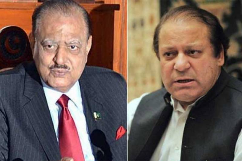 President Mamnoon, PM Nawaz ask nation to celebrate Eid with simplicity owing to recent tragedies