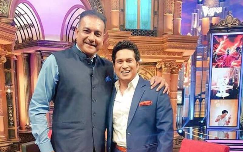 Tendulkar convinces Shastri to apply for Team India's coach post
