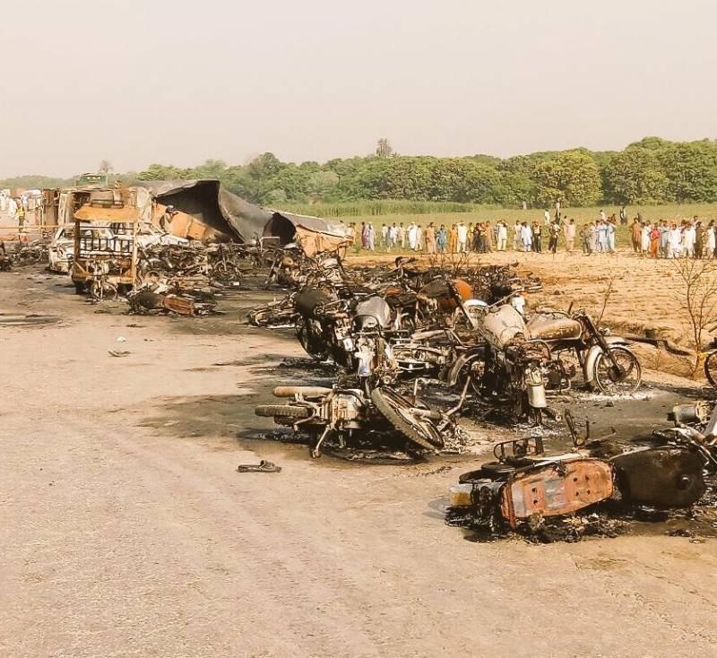 Motorway police blamed for Bahawalpur oil tanker tragedy