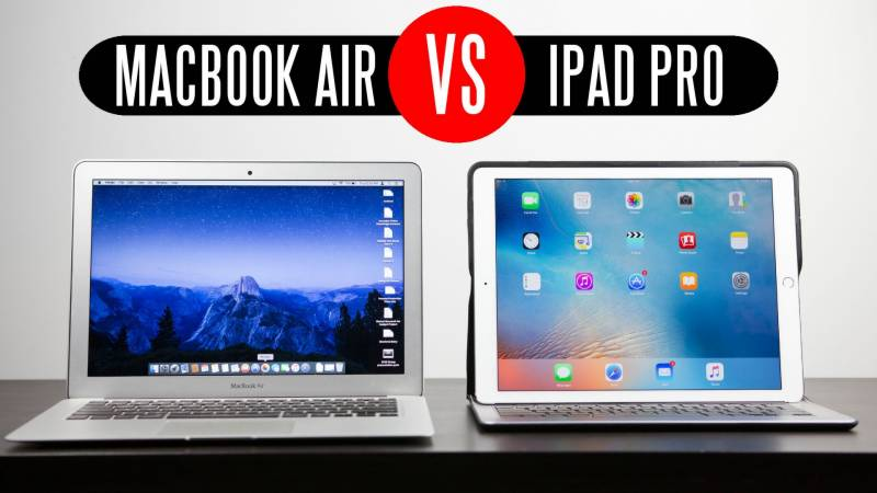 Are the new iPad Pro's faster than the MacBooks