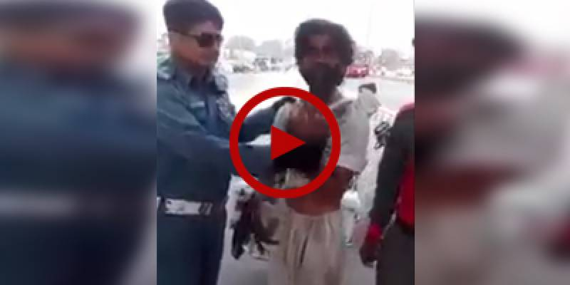 'Disabled' fake beggar exposed by traffic warden