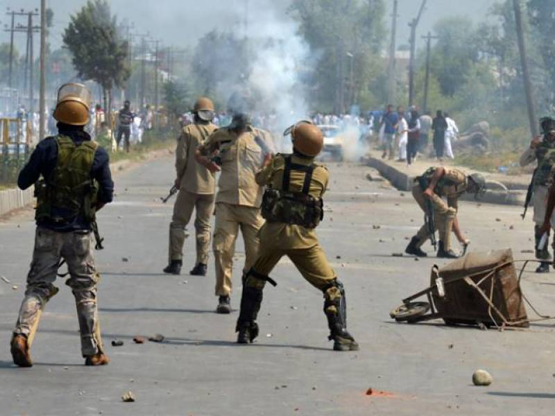 Indian forces martyr two Kashmiris in IOK