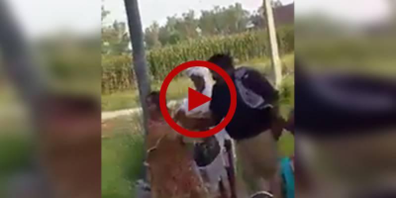 Law enforcers rough up woman on roadside