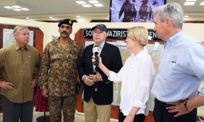 US senators visit South Waziristan, laud Pakistan army's efforts in dismantling terrorist networks