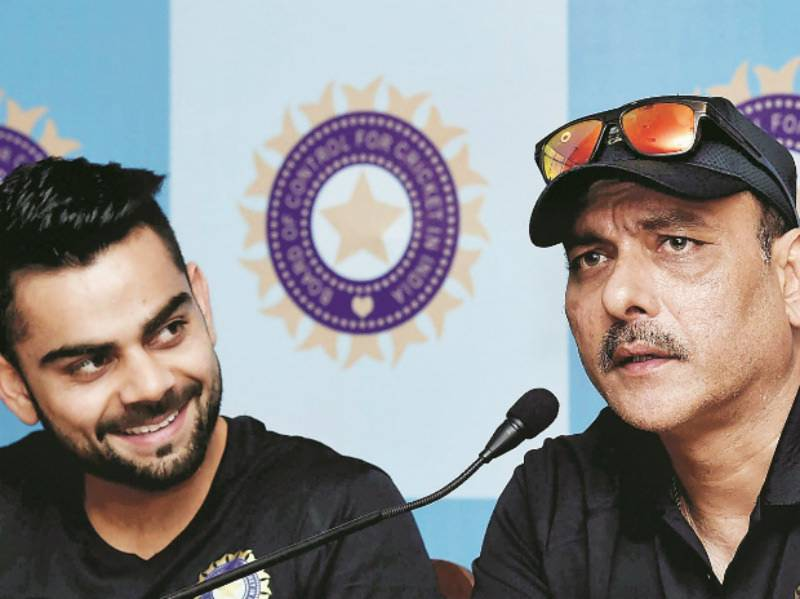 Ravi Shastri appointed new coach of Team India