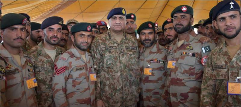 Gen Bajwa lauds security agencies performance, says Balochistan is my prime focus
