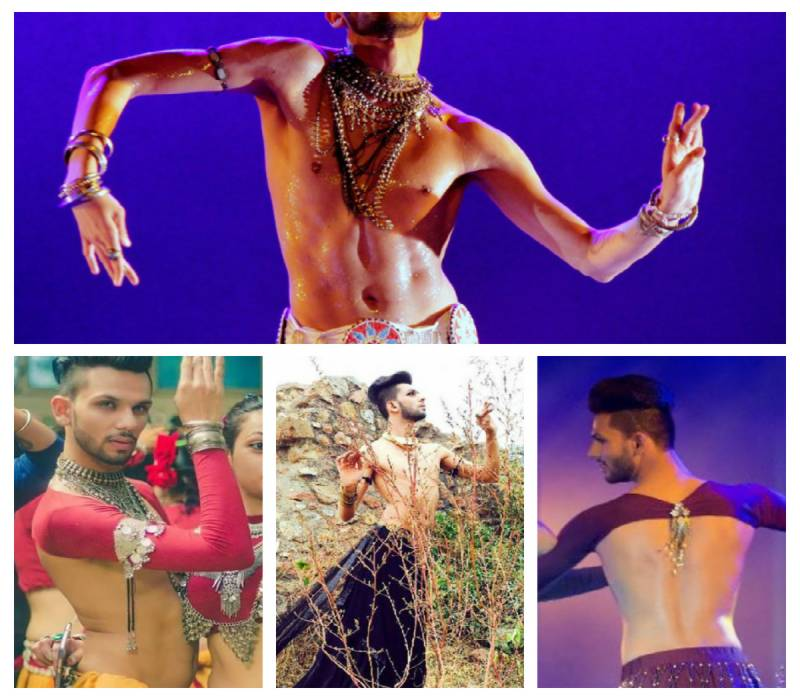 Interview: India's first male Muslim belly dancer has a message for 'masculine men'