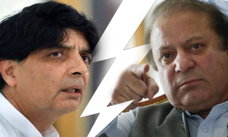 """Only a miracle can save you,""Chaudhry Nisar tells PM Nawaz Sharif: sources"