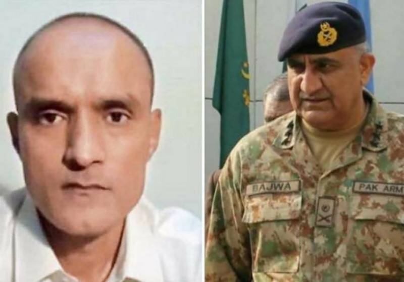 COAS Qamar Bajwa will decide Kulbhushan Jadhav's mercy plea on merit and justice: ISPR