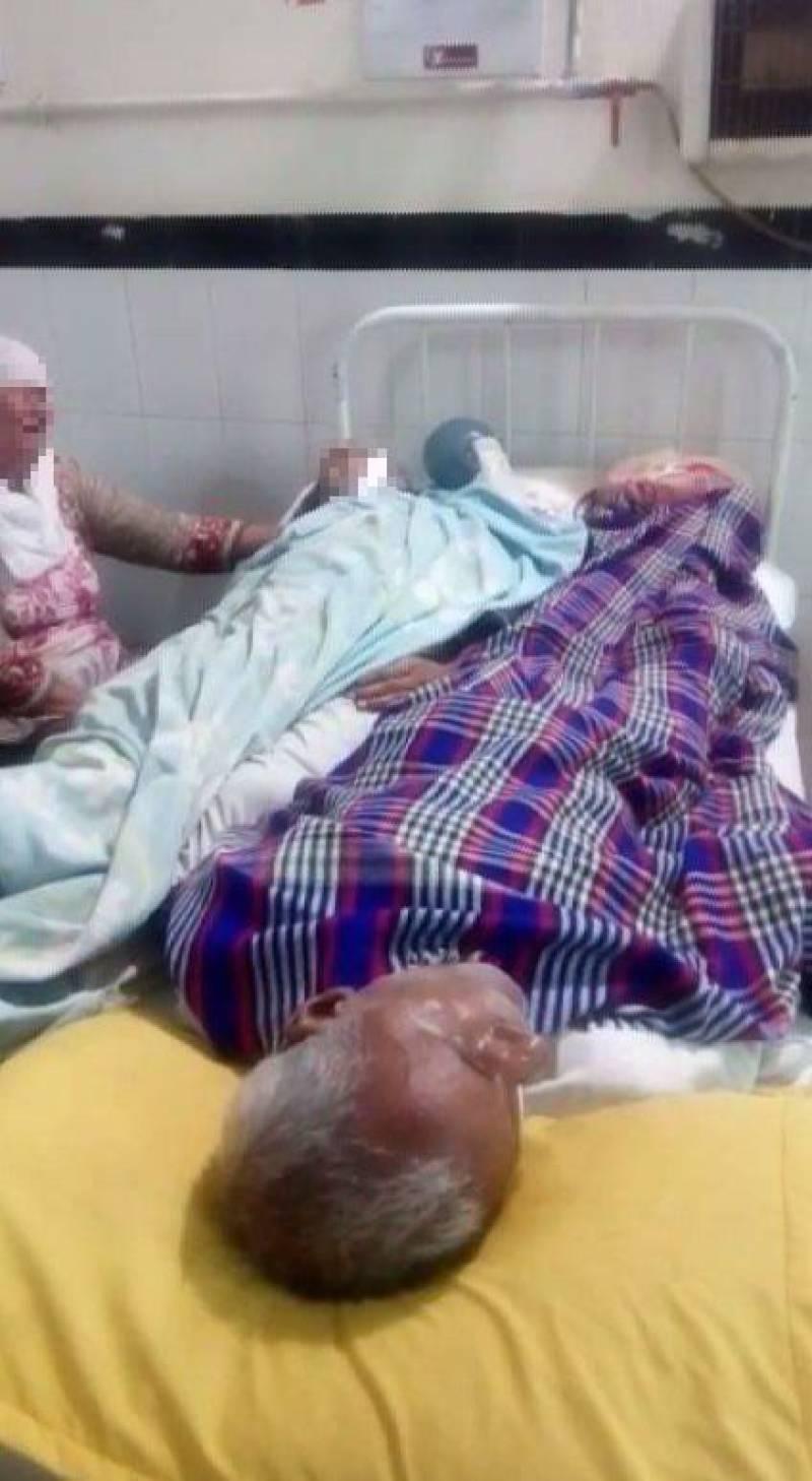 Patient treated alongside dead body in Gujranwala hospital