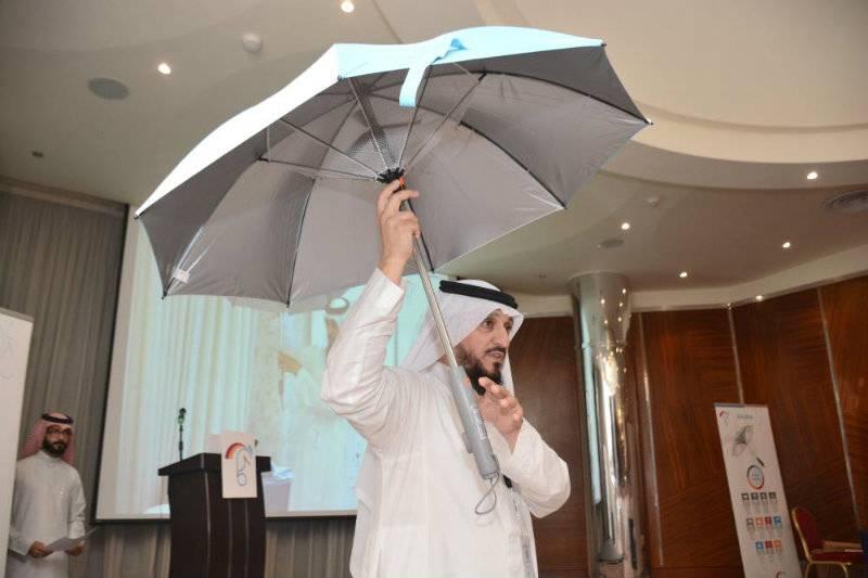 Saudi engineer invents air-conditioned umbrella for Hajj pilgrims