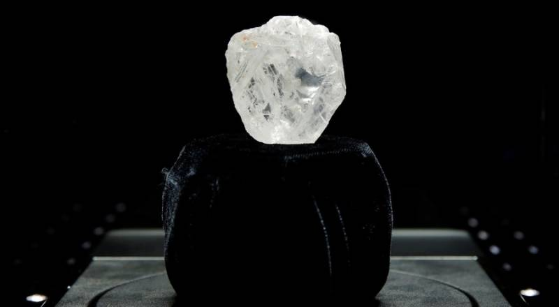 Too big to sell: Canadian mining firm may cut tennis ball-sized diamond to attract buyer