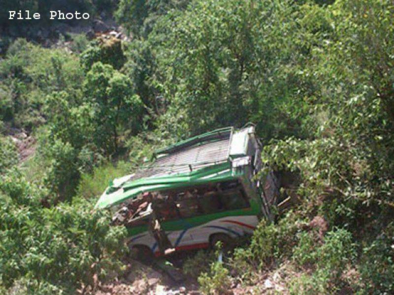28 killed as bus falls into deep gorge in northern India
