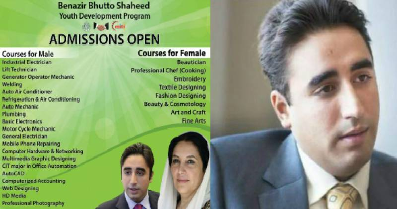 Is Benazir Bhutto Youth Program sexist?