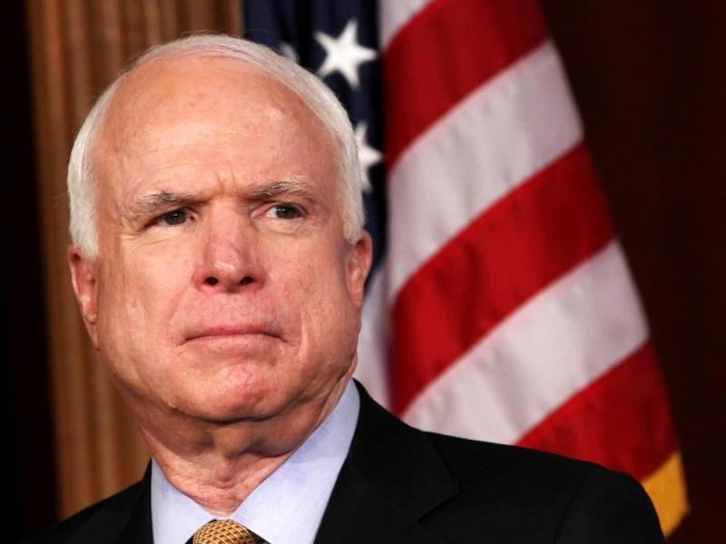 US Senator John McCain diagnosed with brain cancer
