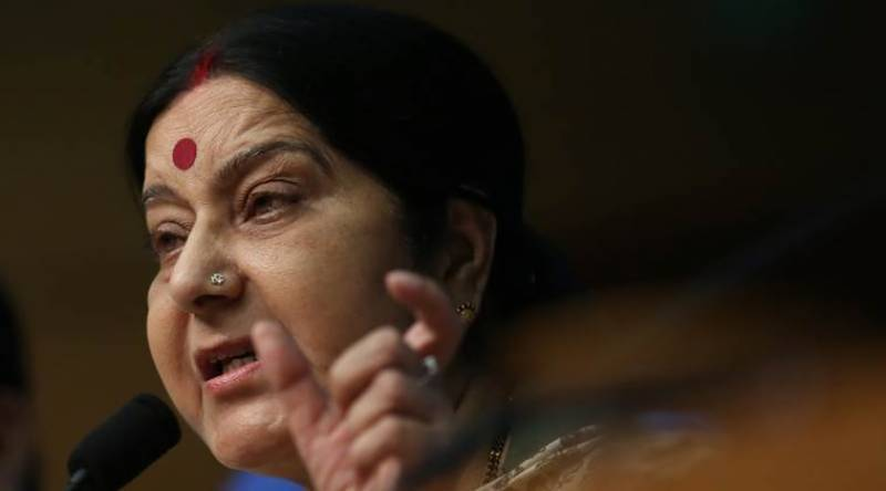 Chinese media accuses Sushma Swaraj of lying about border standoff