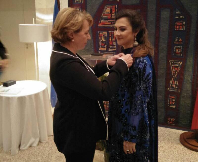 'National Order of Merit': Marvi Memon honoured with prestigious French award