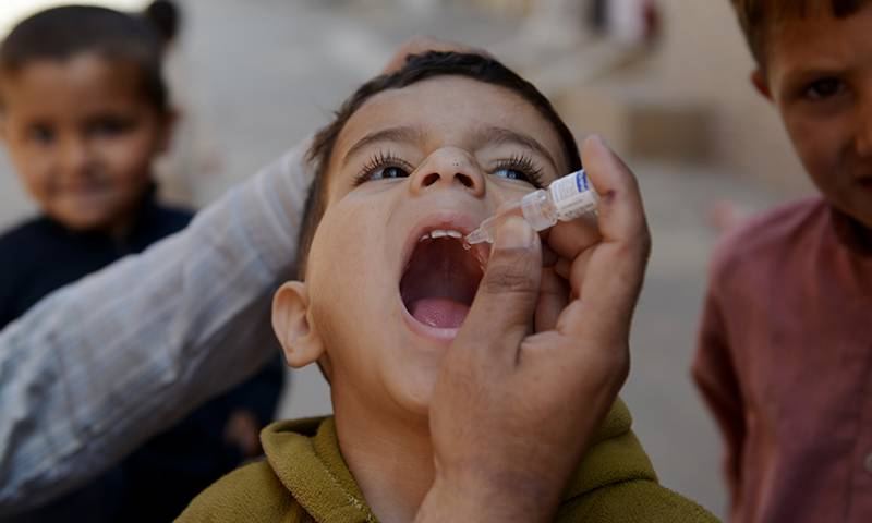 No single case of polio reported in Fata during the past one year