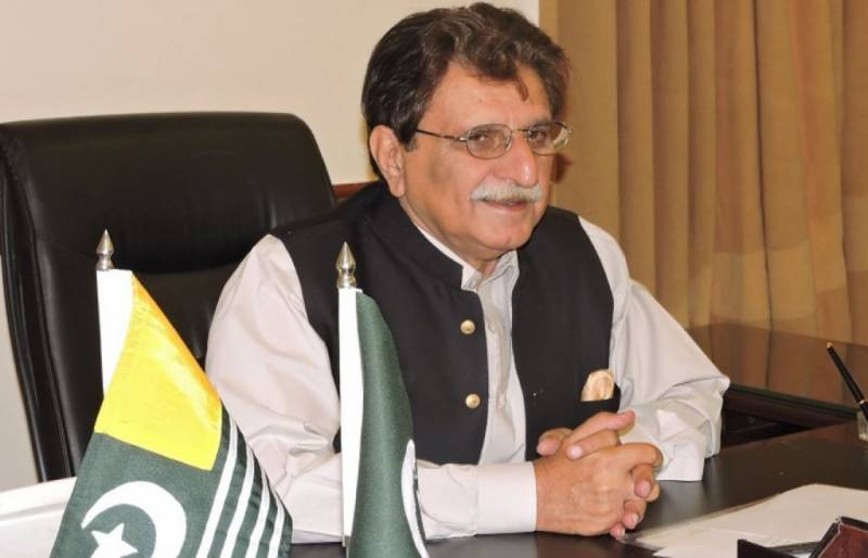 AJK Prime Minister backtracks on earlier statement, denies questioning annexation with Pakistan