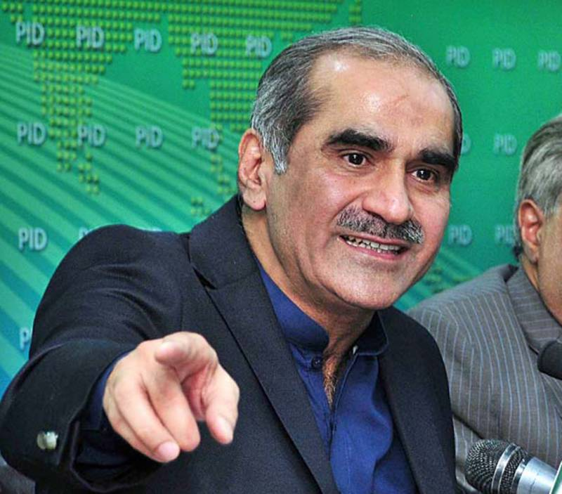 No state institution conspired against Nawaz Sharif, claims Saad Rafique