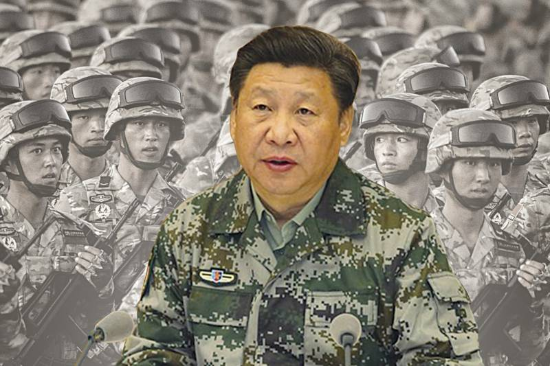 President Xi inspects military parade at PLA 90th birthday