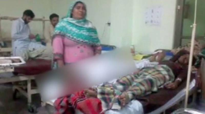 Corpse & patient on same bed in Gujranwala hospital again