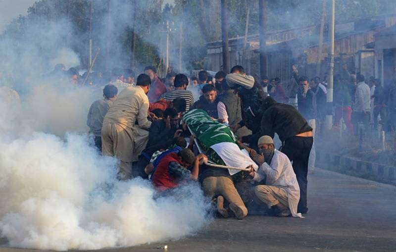 Indian forces killed 33 Kashmiris in single month: report