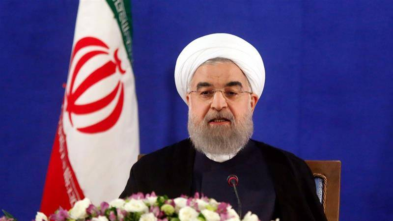Iran's Hassan Rouhani sworn in as president for second term