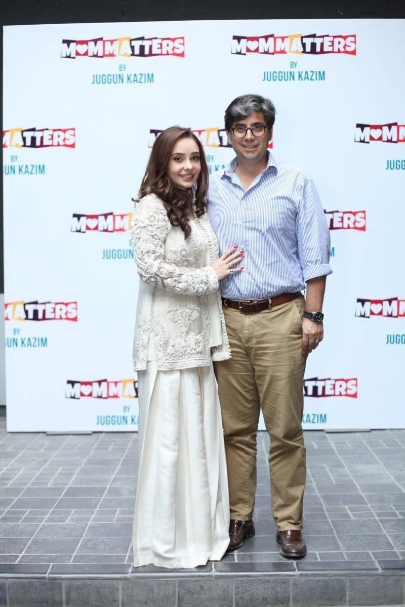 Juggan Kazim launches her first book 'MOM MATTERS', sends shout-out to UPFRONT by Daily Pakistan