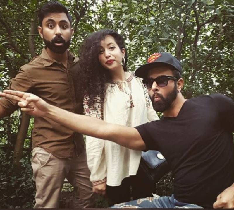 Noor Hassan enjoying time off from work, partying it up with friends!