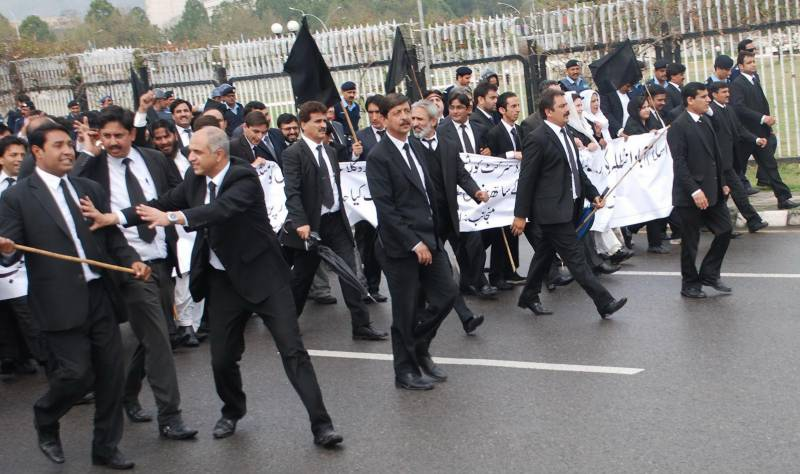 Lawyers announce 3-day mourning to protest Quetta's Civil Hospital tragedy