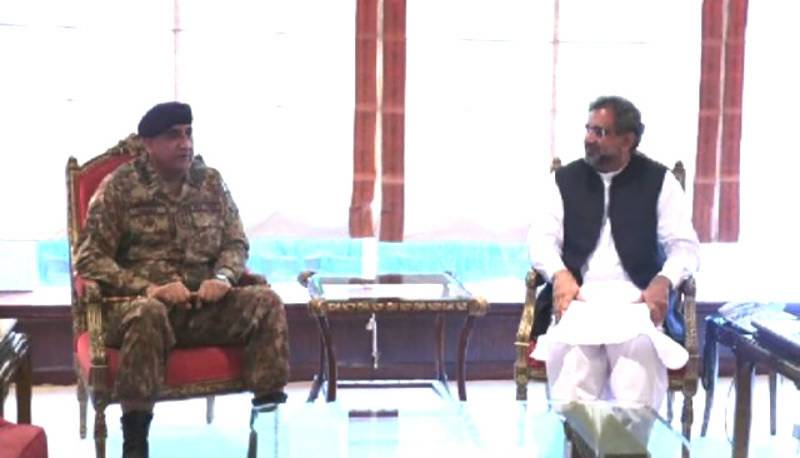 Bajwa-Abbasi meeting: Subtle change in seating arrangement points at huge development