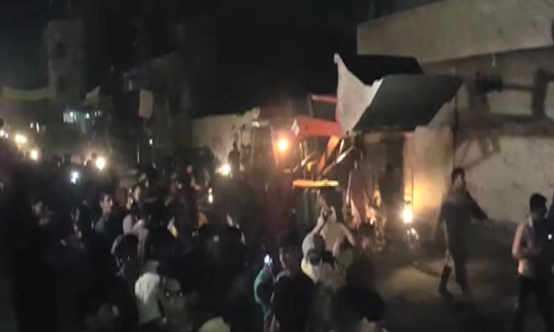 Case of Lahore's Bund Road blast registered