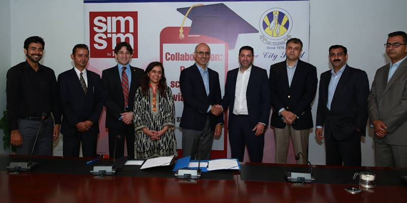 FINCA joins hands with The City School for cashless fee payment