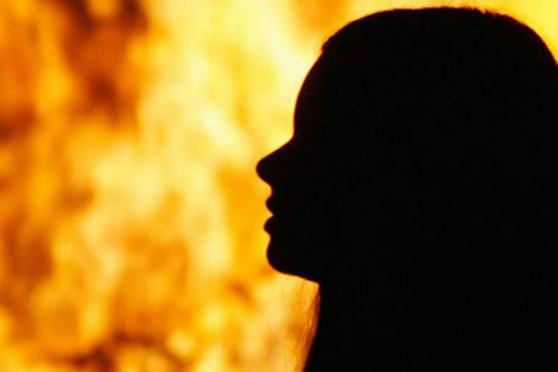 Mother of five set on fire by employer in Nankana Sahib