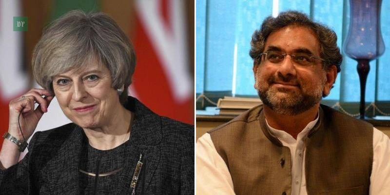 UK eyes working with PM Abbasi for stable Pakistan: PM May